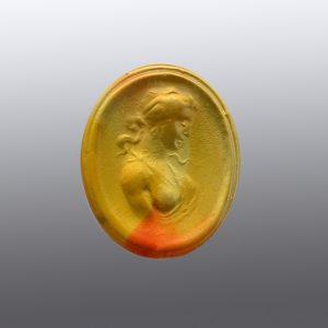#0192-18.5x15.5 corniola arancio special-cameo-intaglio