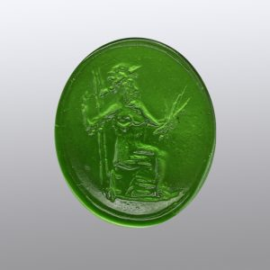 0573-18x15.6 verde selva-intaglio-cameo