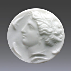 Cameo of Arethusa profile head