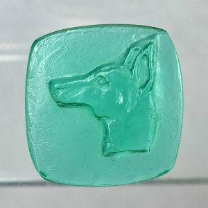 #0611-29x28.5 verde marino-cameo-intaglio