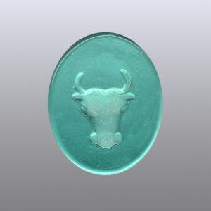 #0629-15x12 verde marino-intaglio-cameo