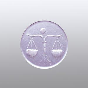 #0634-13.5x13.5 lavanda scuro-intaglio-cameo