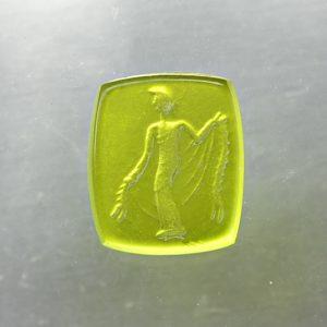 #0641-11x9 verde erba chiaro-intaglio-cameos