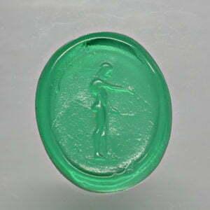 #0698-13x11 verde selva-cameo_intaglio