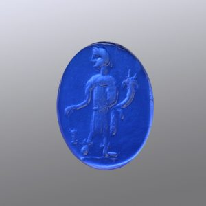 #0754-14x10 lapis alabastro-intaglio-cameo