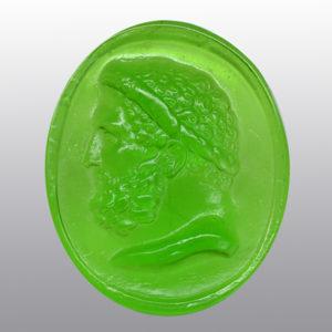 #0773-44x36 verde prato_cameo_intaglio