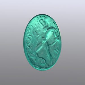 #0801-18x12 verde marino-intaglio-cameo