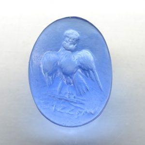 #0806-18x13.6 bluino cx-intaglio -cab