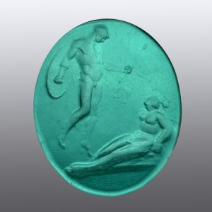 #0812-25.5x21 verde marino-cameo
